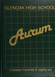 Page 1, 1986 Edition, Glenoak High School - Aurum Yearbook (Canton, OH) online yearbook collection