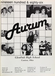 Page 5, 1986 Edition, Glenoak High School - Aurum Yearbook (Canton, OH) online yearbook collection