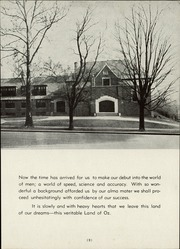 Page 13, 1946 Edition, Oakwood High School - Acorn Yearbook (Dayton, OH) online yearbook collection