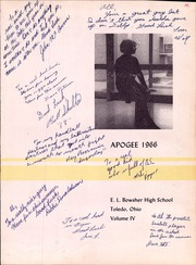 Page 5, 1966 Edition, Bowsher High School - Apogee Yearbook (Toledo, OH) online yearbook collection