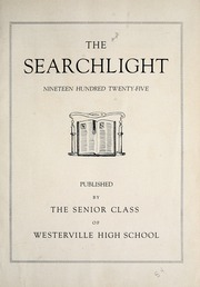 Page 7, 1925 Edition, Westerville High School - Searchlight Yearbook (Westerville, OH) online yearbook collection