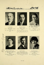 Page 17, 1926 Edition, Westerville High School - Searchlight Yearbook (Westerville, OH) online yearbook collection
