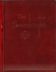 1934 Edition, Westerville High School - Searchlight Yearbook (Westerville, OH)
