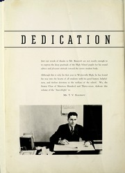 Page 6, 1937 Edition, Westerville High School - Searchlight Yearbook (Westerville, OH) online yearbook collection