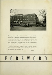 Page 7, 1937 Edition, Westerville High School - Searchlight Yearbook (Westerville, OH) online yearbook collection