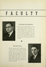 Page 9, 1937 Edition, Westerville High School - Searchlight Yearbook (Westerville, OH) online yearbook collection