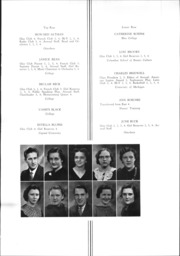 Page 15, 1938 Edition, Westerville High School - Searchlight Yearbook (Westerville, OH) online yearbook collection