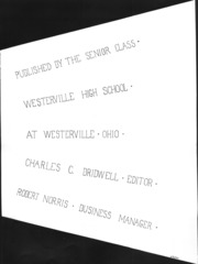 Page 5, 1938 Edition, Westerville High School - Searchlight Yearbook (Westerville, OH) online yearbook collection