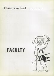 Page 10, 1954 Edition, Westerville High School - Searchlight Yearbook (Westerville, OH) online yearbook collection