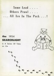 Page 5, 1954 Edition, Westerville High School - Searchlight Yearbook (Westerville, OH) online yearbook collection