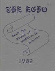 1953 Edition, Springfield Township High School - Echo Yearbook (Ontario, OH)