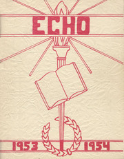 1954 Edition, Springfield Township High School - Echo Yearbook (Ontario, OH)