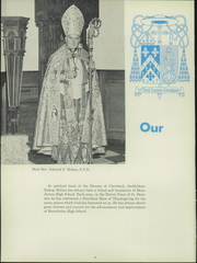 Page 10, 1955 Edition, Benedictine High School - Benedictine Yearbook (Cleveland, OH) online yearbook collection