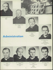 Page 15, 1955 Edition, Benedictine High School - Benedictine Yearbook (Cleveland, OH) online yearbook collection