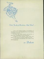 Page 6, 1955 Edition, Benedictine High School - Benedictine Yearbook (Cleveland, OH) online yearbook collection