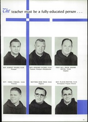 Page 15, 1962 Edition, Benedictine High School - Benedictine Yearbook (Cleveland, OH) online yearbook collection