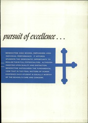 Page 3, 1962 Edition, Benedictine High School - Benedictine Yearbook (Cleveland, OH) online yearbook collection