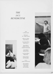 Page 6, 1975 Edition, Benedictine High School - Benedictine Yearbook (Cleveland, OH) online yearbook collection