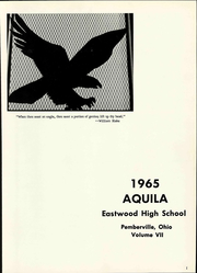 Page 7, 1965 Edition, Eastwood High School - Aquila Yearbook (Pemberville, OH) online yearbook collection