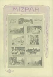 Page 12, 1927 Edition, Mount Gilead High School - Mizpah Yearbook (Mount Gilead, OH) online yearbook collection