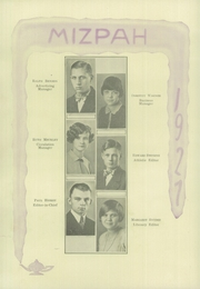 Page 14, 1927 Edition, Mount Gilead High School - Mizpah Yearbook (Mount Gilead, OH) online yearbook collection