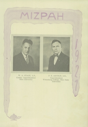 Page 17, 1927 Edition, Mount Gilead High School - Mizpah Yearbook (Mount Gilead, OH) online yearbook collection
