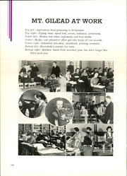 Page 14, 1939 Edition, Mount Gilead High School - Mizpah Yearbook (Mount Gilead, OH) online yearbook collection