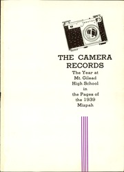 Page 5, 1939 Edition, Mount Gilead High School - Mizpah Yearbook (Mount Gilead, OH) online yearbook collection