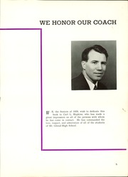 Page 9, 1939 Edition, Mount Gilead High School - Mizpah Yearbook (Mount Gilead, OH) online yearbook collection