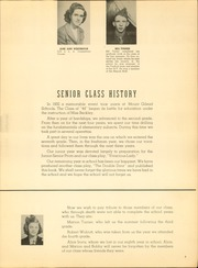 Page 9, 1944 Edition, Mount Gilead High School - Mizpah Yearbook (Mount Gilead, OH) online yearbook collection