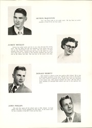 Page 17, 1951 Edition, Mount Gilead High School - Mizpah Yearbook (Mount Gilead, OH) online yearbook collection
