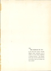 Page 5, 1951 Edition, Mount Gilead High School - Mizpah Yearbook (Mount Gilead, OH) online yearbook collection