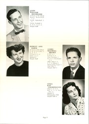 Page 12, 1954 Edition, Mount Gilead High School - Mizpah Yearbook (Mount Gilead, OH) online yearbook collection