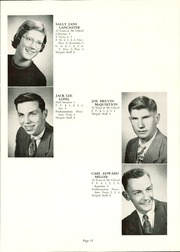 Page 15, 1954 Edition, Mount Gilead High School - Mizpah Yearbook (Mount Gilead, OH) online yearbook collection