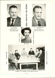 Page 7, 1954 Edition, Mount Gilead High School - Mizpah Yearbook (Mount Gilead, OH) online yearbook collection
