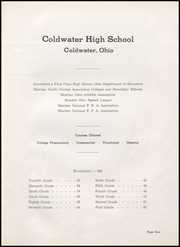 Page 5, 1949 Edition, Coldwater High School - Cavalier Yearbook (Coldwater, OH) online yearbook collection