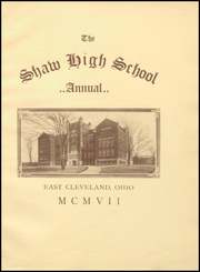 Page 9, 1907 Edition, Shaw High School - Shuttle Yearbook (East Cleveland, OH) online yearbook collection