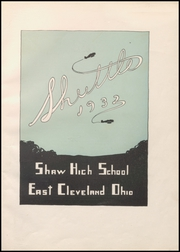 Page 5, 1932 Edition, Shaw High School - Shuttle Yearbook (East Cleveland, OH) online yearbook collection