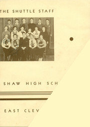 Page 7, 1936 Edition, Shaw High School - Shuttle Yearbook (East Cleveland, OH) online yearbook collection