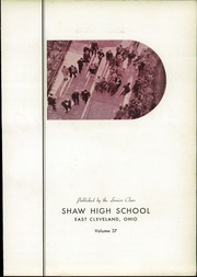 Page 7, 1940 Edition, Shaw High School - Shuttle Yearbook (East Cleveland, OH) online yearbook collection