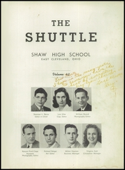 Page 5, 1945 Edition, Shaw High School - Shuttle Yearbook (East Cleveland, OH) online yearbook collection