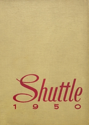 1950 Edition, Shaw High School - Shuttle Yearbook (East Cleveland, OH)