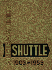 1953 Edition, Shaw High School - Shuttle Yearbook (East Cleveland, OH)