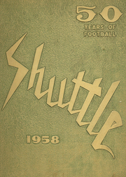 1958 Edition, Shaw High School - Shuttle Yearbook (East Cleveland, OH)