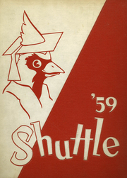 1959 Edition, Shaw High School - Shuttle Yearbook (East Cleveland, OH)