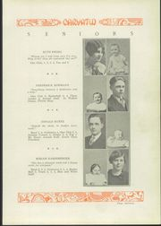 Page 17, 1927 Edition, Carey High School - Caryatid Yearbook (Carey, OH) online yearbook collection