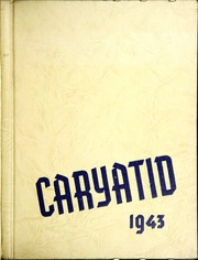 1943 Edition, Carey High School - Caryatid Yearbook (Carey, OH)