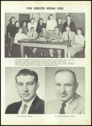 Page 7, 1958 Edition, Carey High School - Caryatid Yearbook (Carey, OH) online yearbook collection