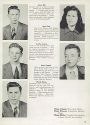 Page 17, 1949 Edition, Jackson Liberty High School - Blue and Gold Yearbook (Amsden, OH) online yearbook collection