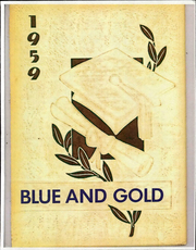 Page 1, 1959 Edition, Jackson Liberty High School - Blue and Gold Yearbook (Amsden, OH) online yearbook collection